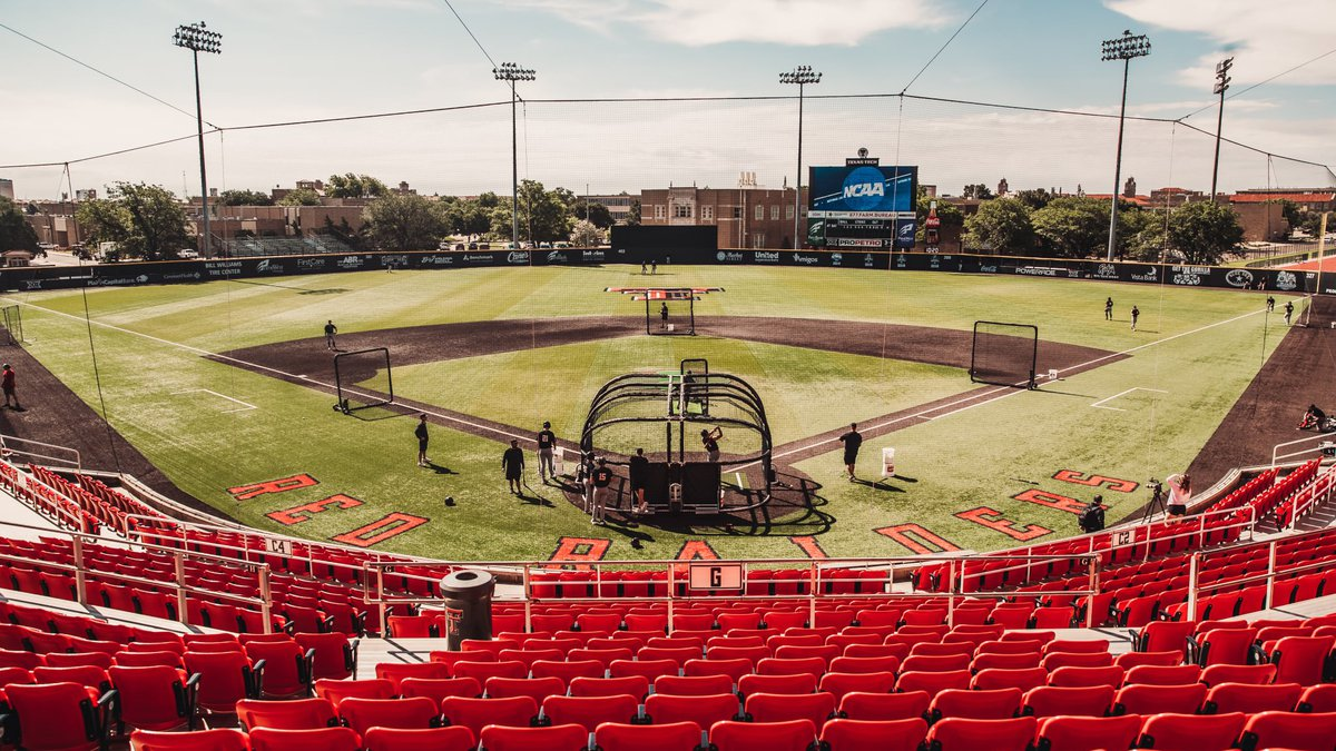 Texas Tech Red Raiders will open the Lubbock Regional Friday at 11 a.m. at Dan Law Field