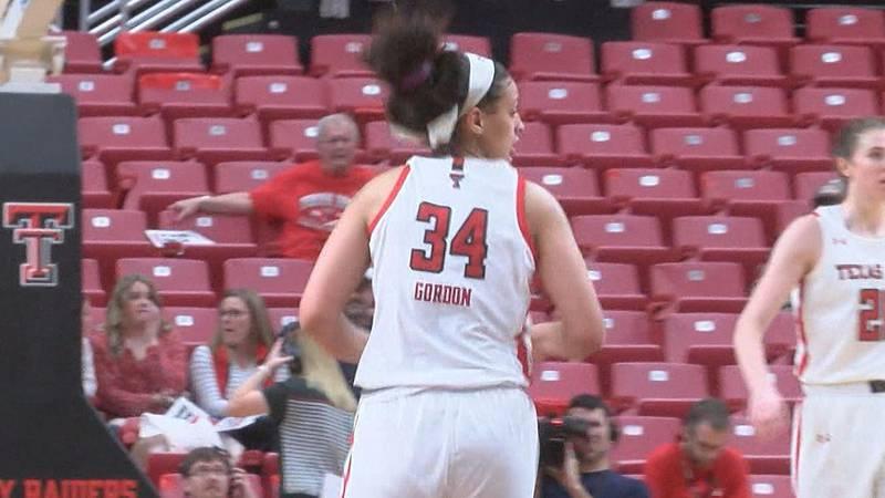 Lexie Gordon named Big 12 Player of the Week