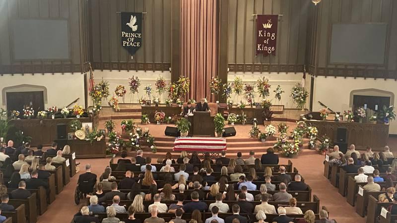 Family, friends, law enforcement honor fallen deputy at funeral