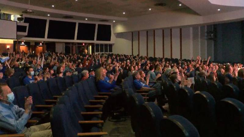 Fans of all ages packed into the MacDonald Moody Auditorium on the LCU campus to watch the Lady...