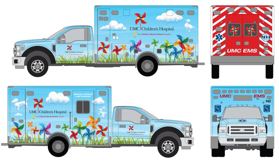 UMC raising money during the 38th Annual Children's Miracle Network for a pediatric ambulance.