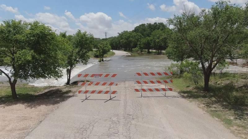 Heavy rainfall, Brazos River feed high water level at Buffalo Springs