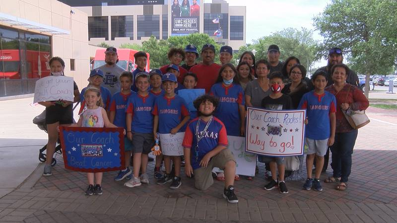 (Lubbock, Tx) Jesus Martinez beats cancer while coaching little league team