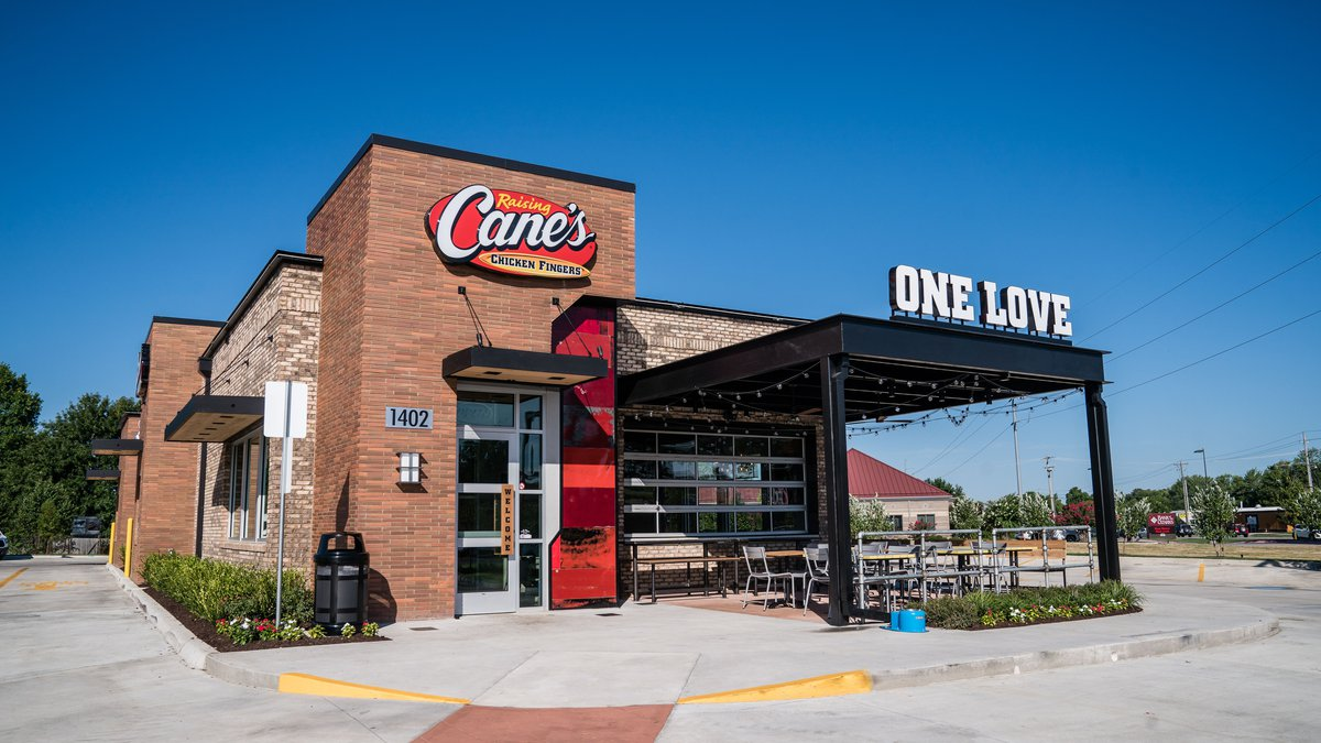 A Raising Cane's location could be opening in Odessa early next year.