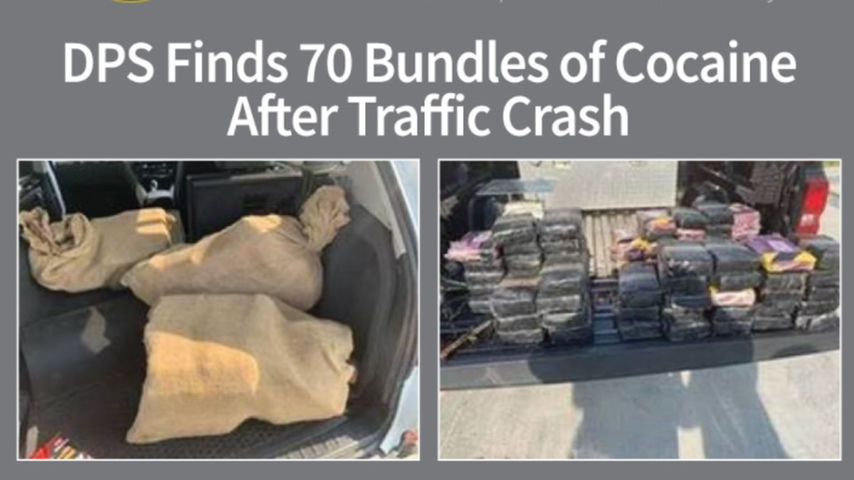 The cocaine has an estimated street value of more than $3.3 million. It weighed more  than 182...