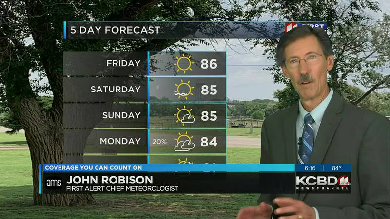 KCBD Weather at 6 for Thursday, Sept. 23