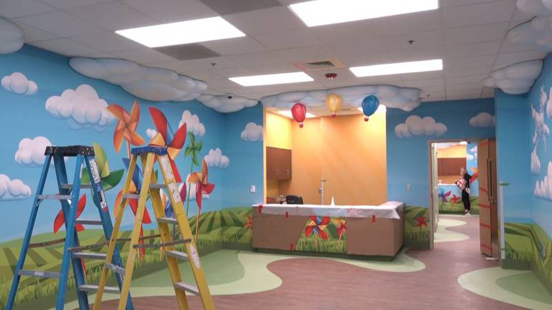 UMC Children's Hospital is set to open a new emergency room in April