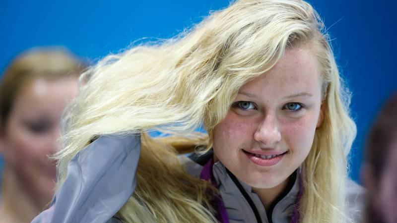 Jessica Long of Baltimore, Md. has also made five trips to the Paralympic Games