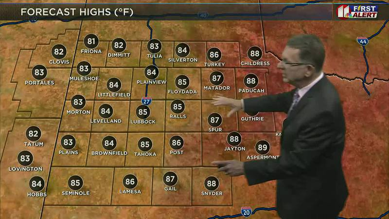 KCBD Daybreak Today - Weather, 5 a.m., Aug. 2