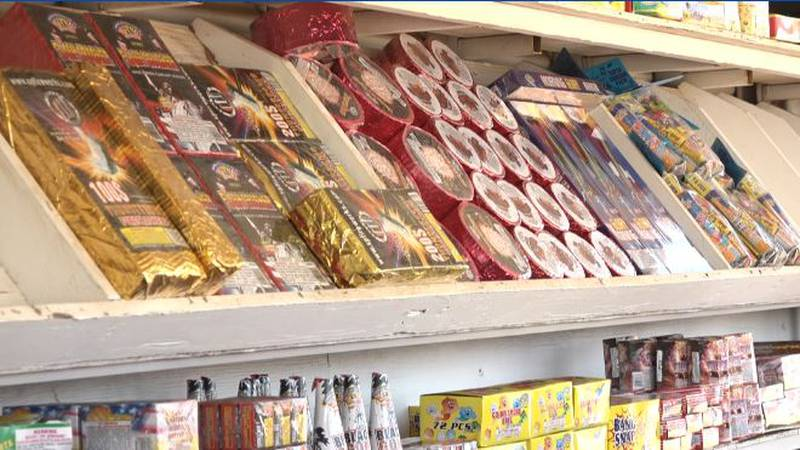"""Firework stand workers hope to eclipse last year's """"record breaking"""" sales"""