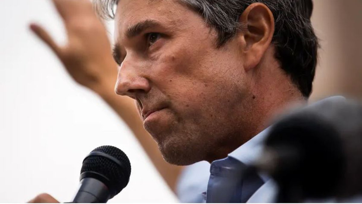 """Former U.S. Rep. Beto O'Rourke, D-El Paso, speaks at """"Texans Rally for Our Voting Rights"""" at..."""