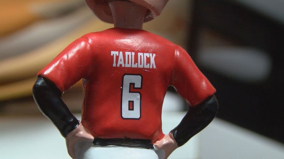 Tim Tadlock Bobblehead (Source: KCBD Photo)