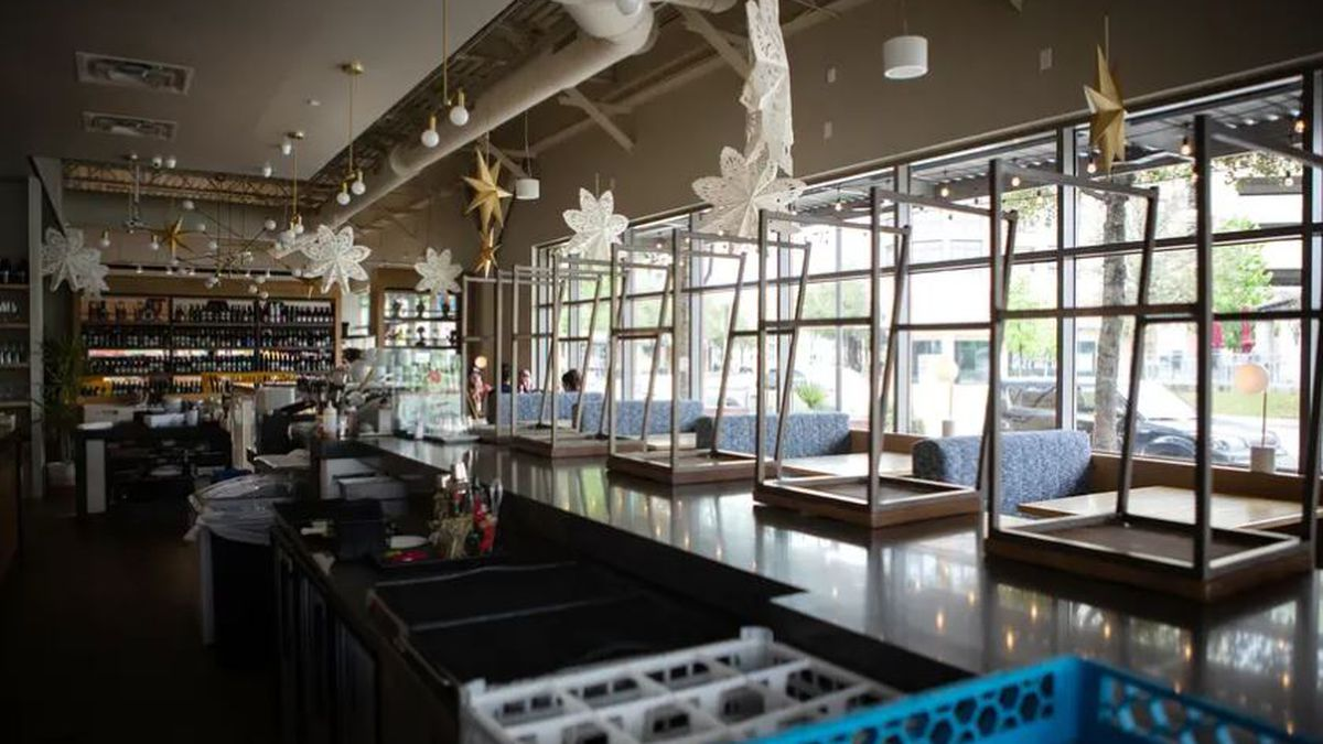 Texas restaurants were among business forced to close due to the coronavirus pandemic last...