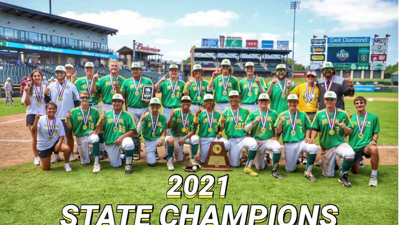 After beating Shiner and Garrison to win the UIL State Baseball Championship, the New Deal...