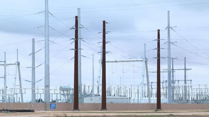 Lubbock Power & Light's Dunbar Substation