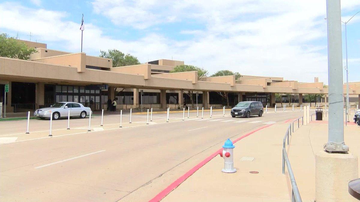 Lubbock Preston Smith International Airport (Source: KCBD Video)