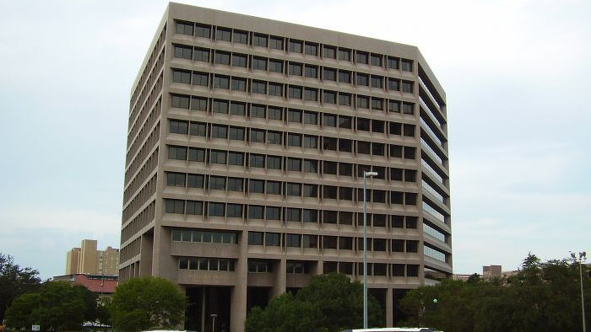 Home of Public Utility Commission of Texas, Travis State Office Building (Source: Wikimedia...