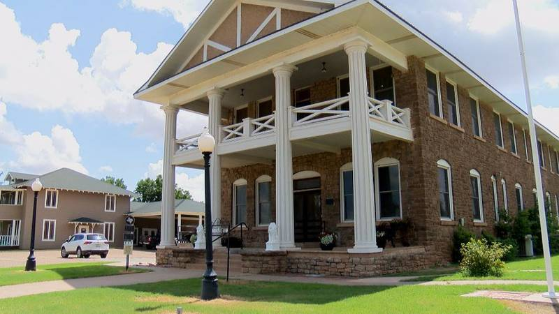 The Garza County Historical Museum was once the Post Sanitarium