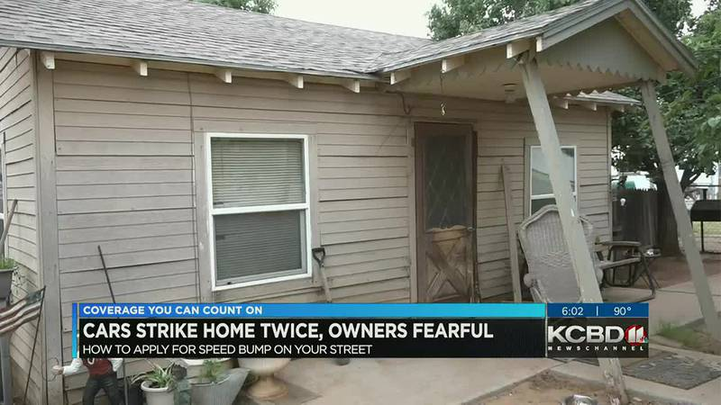 Frustrated homeowners house hit by cars twice, now asking for more traffic awareness