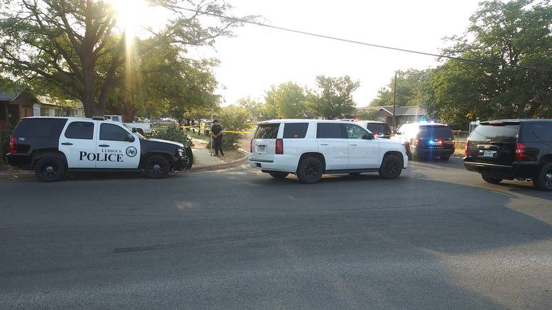 Scene of Sunday evening shooting near East Colgate and North Zenith.
