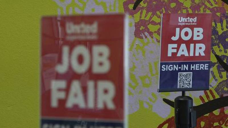 If you're looking for a job, United Supermarkets' three-day mass hiring event is underway.