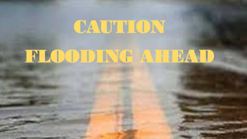 With the recent rains Lubbock County is experiencing some flooding in county roads.