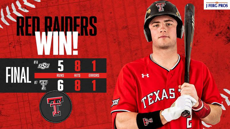 Texas Tech escaped a late comeback by the Oklahoma State Cowboys to take game three of their...