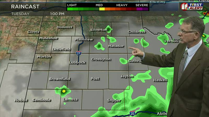 Another round of thunderstorms and showers is expected this afternoon and evening. Here's what...