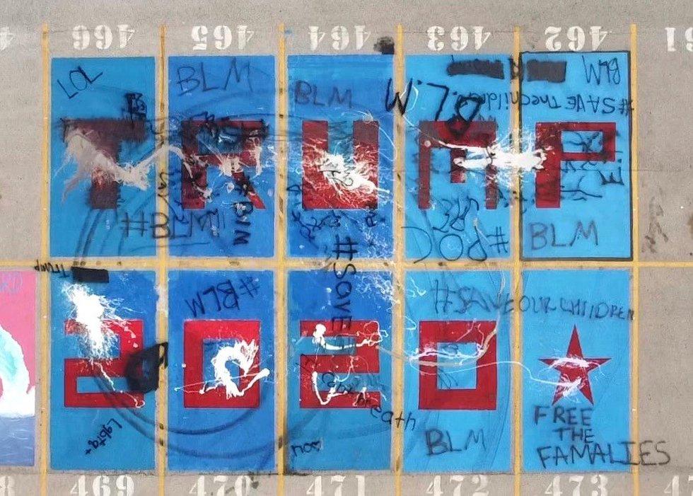 Lubbock Cooper High School Vandalism
