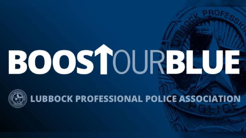 The Lubbock Professional Police Association asks for pay raises in Boost Our Blue campaign