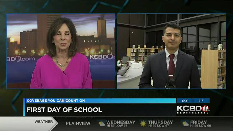 First Day of School for Lubbock County