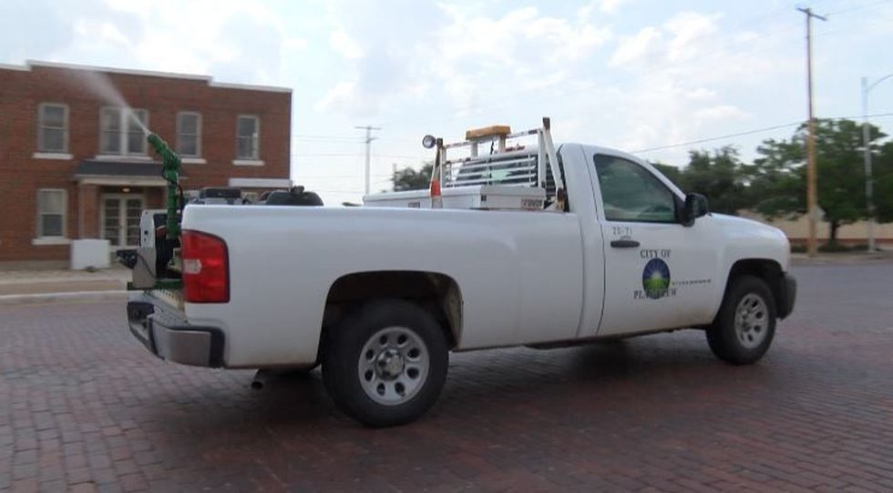 City of Plainview considers contract with aerial spray company. (Source: KCBD)