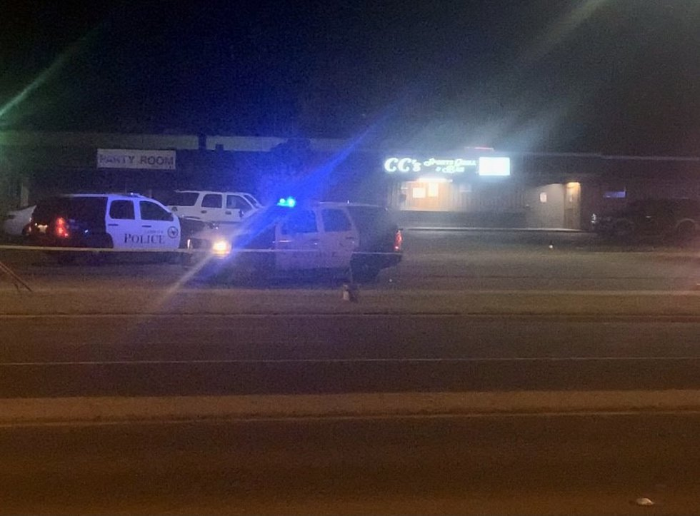 One person is moderately injured after an overnight shooting outside a bar in Central Lubbock.