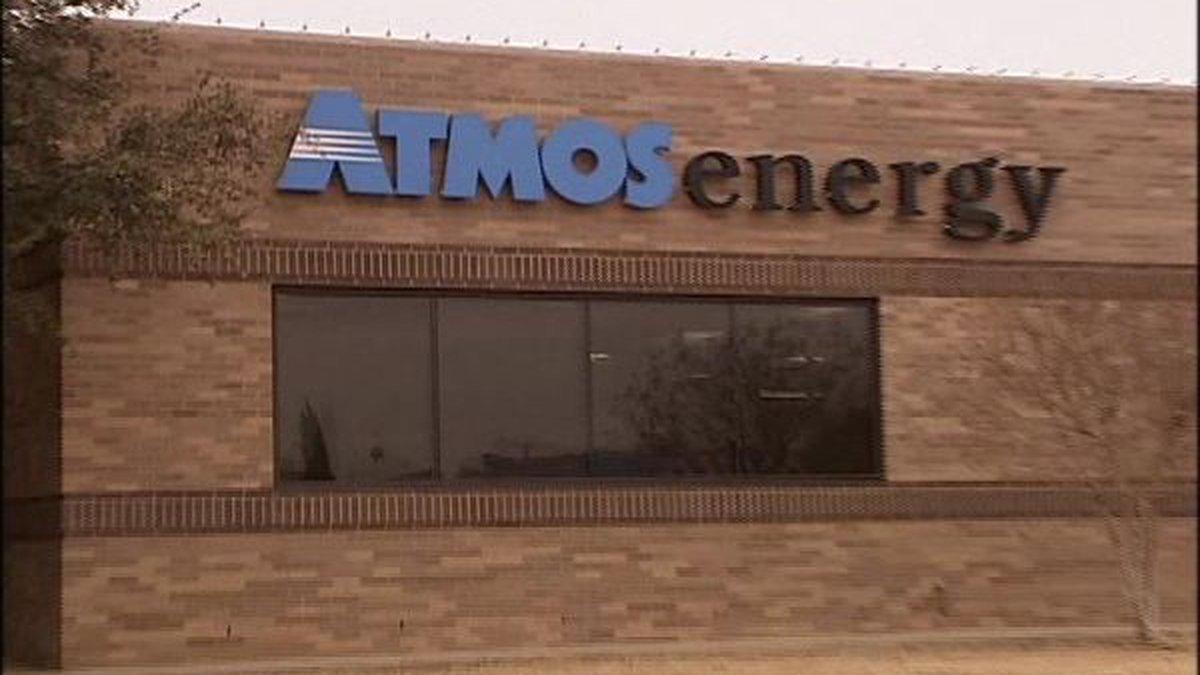 Atmos Energy Building (Source: KCBD Video)