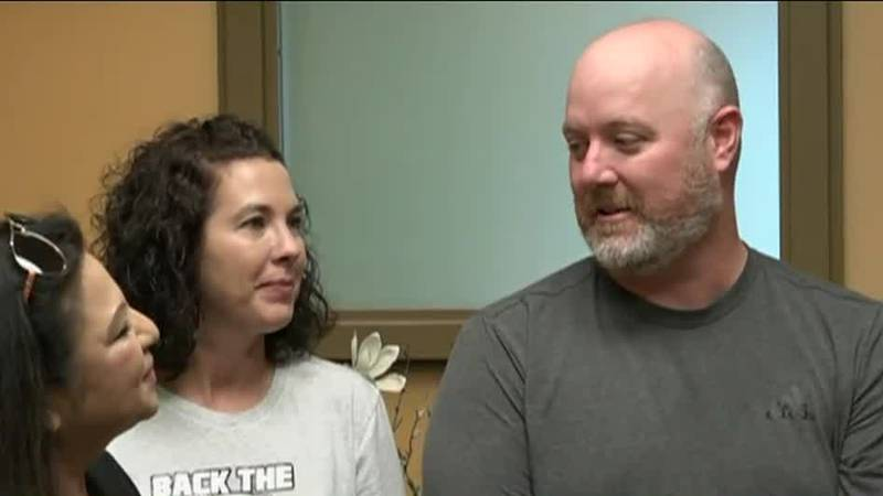 Injured officer Sgt. Shawn Wilson receives support from Peace Officer's Angels Foundation
