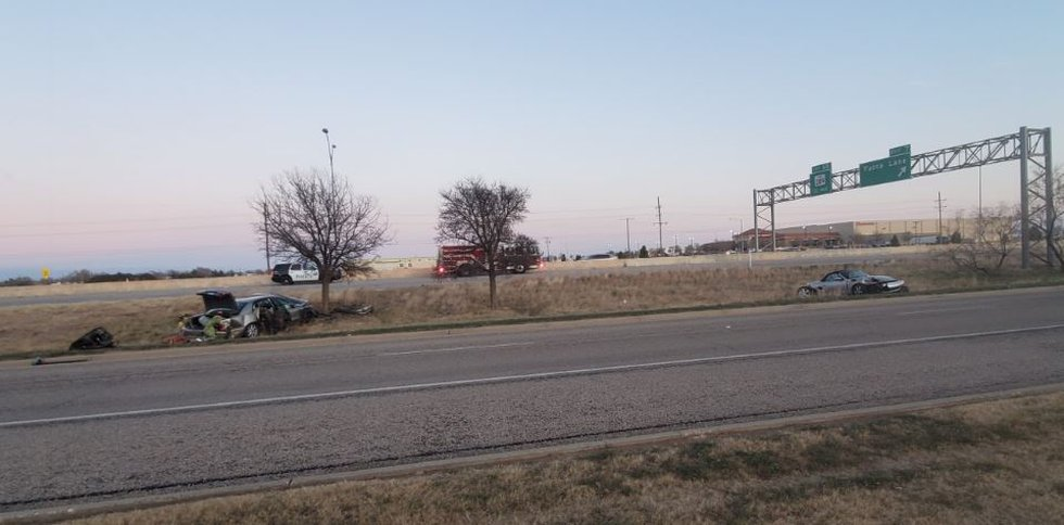 Reported injuries in crash on I-27 near Lubbock Country Club