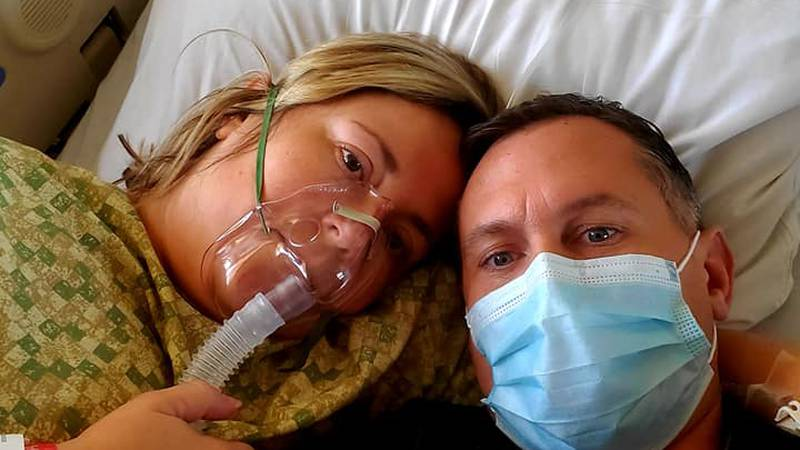 A Texas couple who works in the healthcare field was diagnosed with COVID-19. Carisa and Joseph...