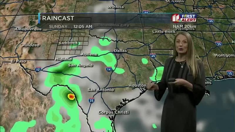 KCBD First Alert Weather: Rain possible Saturday