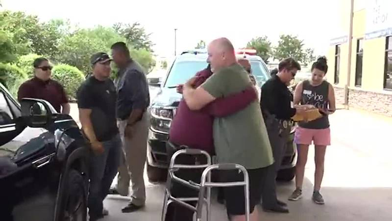 Injured Levelland police officer Shawn Wilson released from hospital on Thursday, July 29.