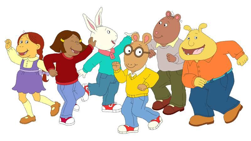 """Arthur"" is the longest-running children's animated series."