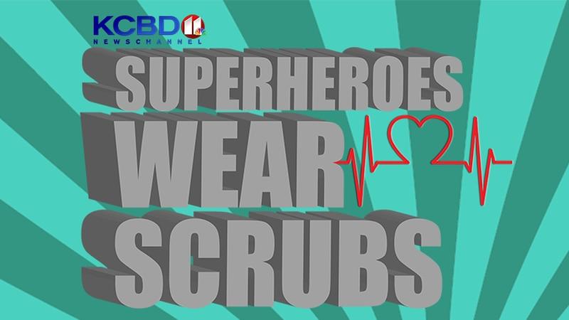 KCBD Superheroes Wear Scrubs
