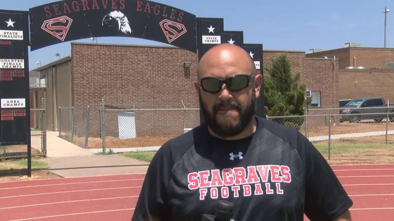 Seagraves Head Coach, Armando Minjarez
