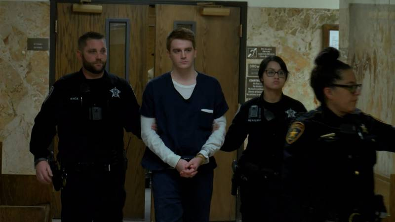 Hollis Daniels is charged with capital murder, accused of shooting and killing Texas Tech...