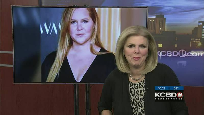 Amy Schumer raising awareness for endometriosis