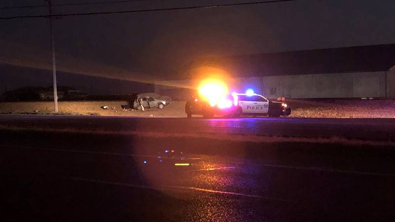 DPS says two people have been taken to the hospital after a Sunday morning rollover on US 84,...