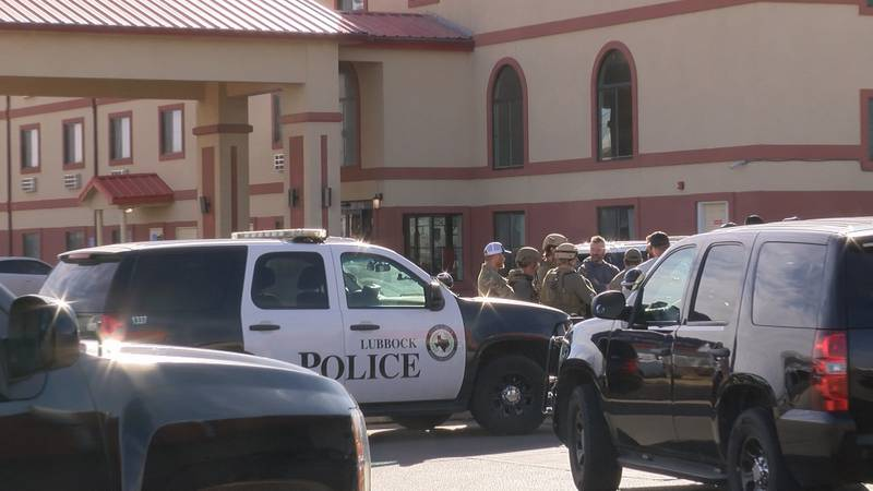 Lubbock police and SWAT units were called to the Howard Johnson Hotel at 5108 I-27 on Wednesday...