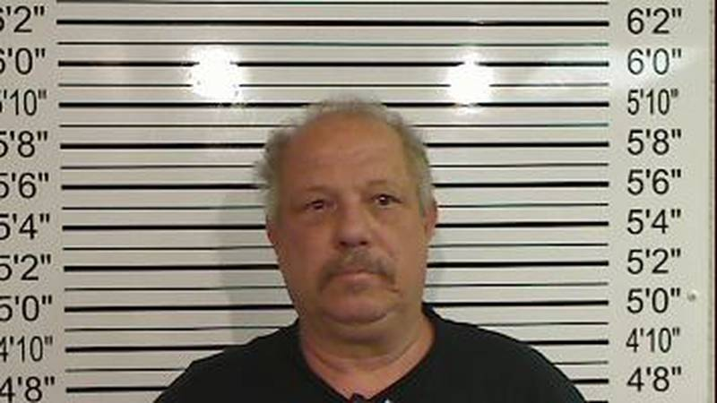 Calvin Padgett, 60, is charged with possession of a prohibited weapon.