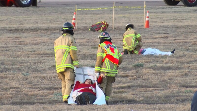 The City of Lubbock put on a city-wide disaster drill this morning.