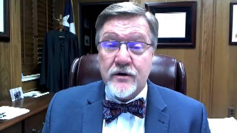 Judge Parrish asks public to remain diligent as COVID hospitalizations decline