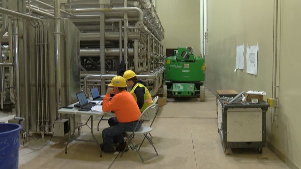 Continental Dairy Facilities Southwest LLC nears completion of milk processing plant in...